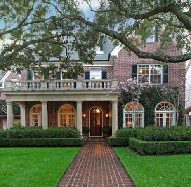 Perfect Colonial. Brick front. Wrap around porch.