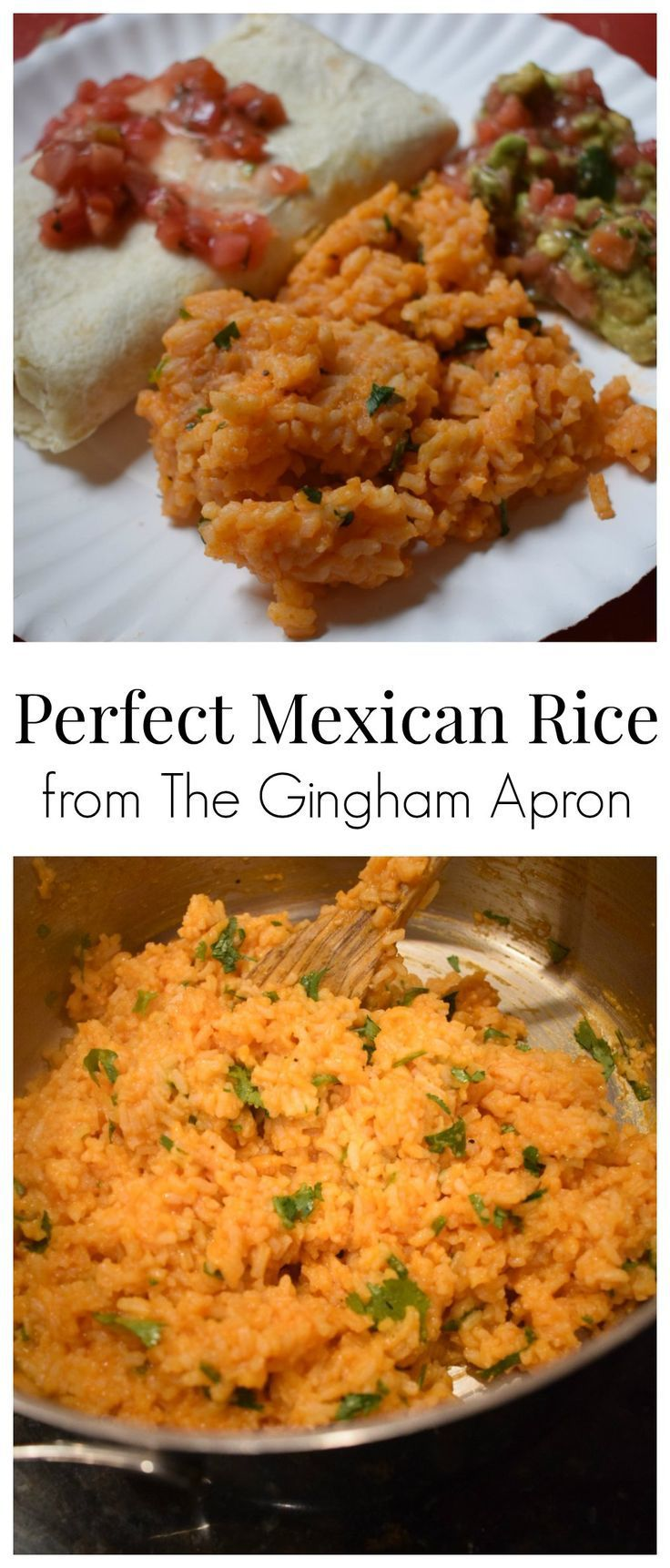 Make Perfect Mexican Rice at home! Tastes just like the delicious rice you order at your favorite Mexican restaurant. #mexican #mexicanfood #cincodemayo