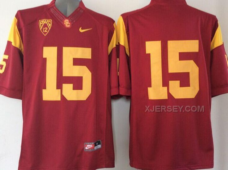 http://www.xjersey.com/usc-trojans-15-red-college-jersey.html USC TROJANS #15 RED COLLEGE JERSEY Only $37.00 , Free Shipping!