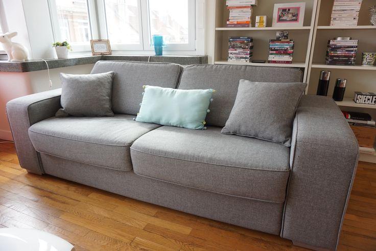 FLY, Linkup luxury sofa-bed, 500€ (original price 1377€). See fly.fr