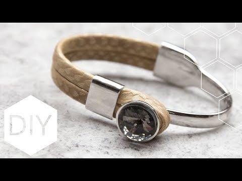 DIY sieraden maken met Kralenhoekje - Rivoli armband - YouTube