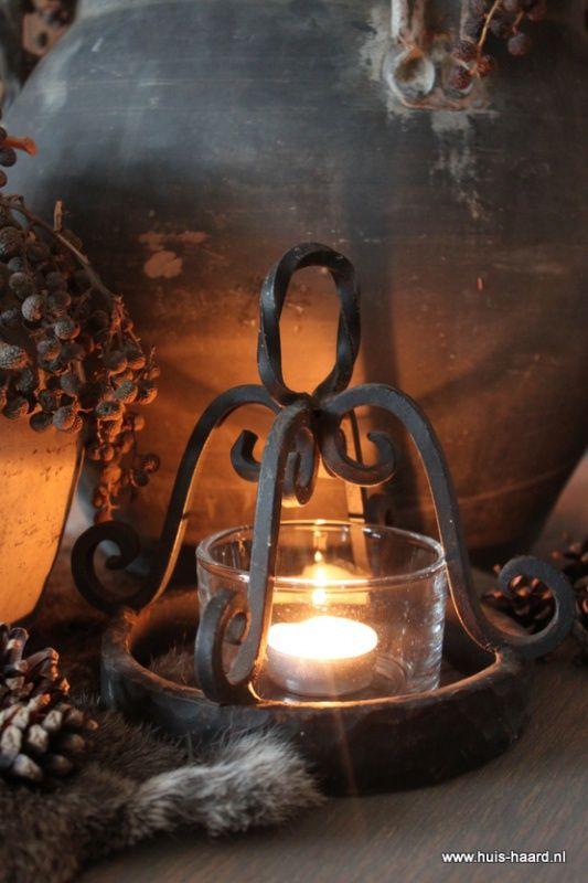 IJzeren ornamentje | Huis & Haard landelijke woonaccessoires webshop