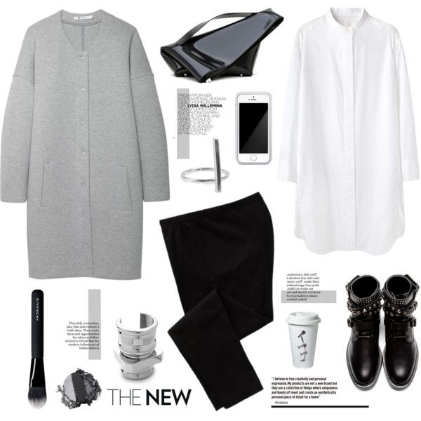 A fashion look from September 2014 featuring Tsumori Chisato dresses, T By Alexander Wang coats and Old Navy leggings. Browse and shop related looks.