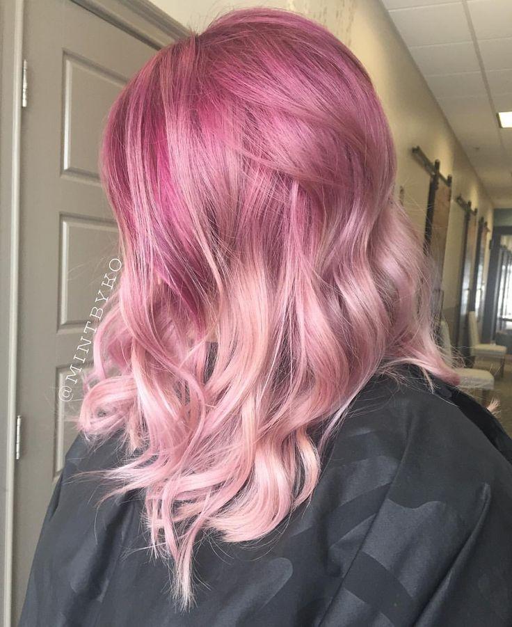 Belated Valentine #mintbyko #pearlescence #americansalon #behindthechair #cosmoprof #hairporn #hairbesties #hairoftheday #imallaboutdahair #larisalovelook #mermaidians #modernsalon #apassionforhair #pinkhair #LicensedToCreate #fiidnt #hairnerd #hotonbeauty #unicorntribe #joicointensity #JoicoMermaids #hairbrained #10000orbust #olaplex #inspirehairstyles #megabits #taotam #HairDollTribe