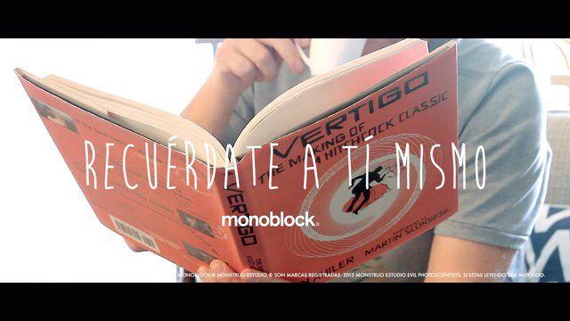 Recuerdate a ti mismo Nicolas Artusi Monoblock & Monstruo Estudio