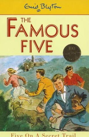 Enid Blyton - the Famous Five. Read all these. Such adventures, such fun!