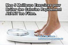 Quand les fêtes approchent, on souhaite que les kilos s'éloignent et vite ! Si l'alimentation est fondamentale, l'activité physique augmente le nombre de calories que vous brûlez, aussi bien pendant le sport... qu'au repos !  Découvrez l'astuce ici : http://www.comment-economiser.fr/exercices-bruler-calories.html?utm_content=bufferaf394&utm_medium=social&utm_source=pinterest.com&utm_campaign=buffer