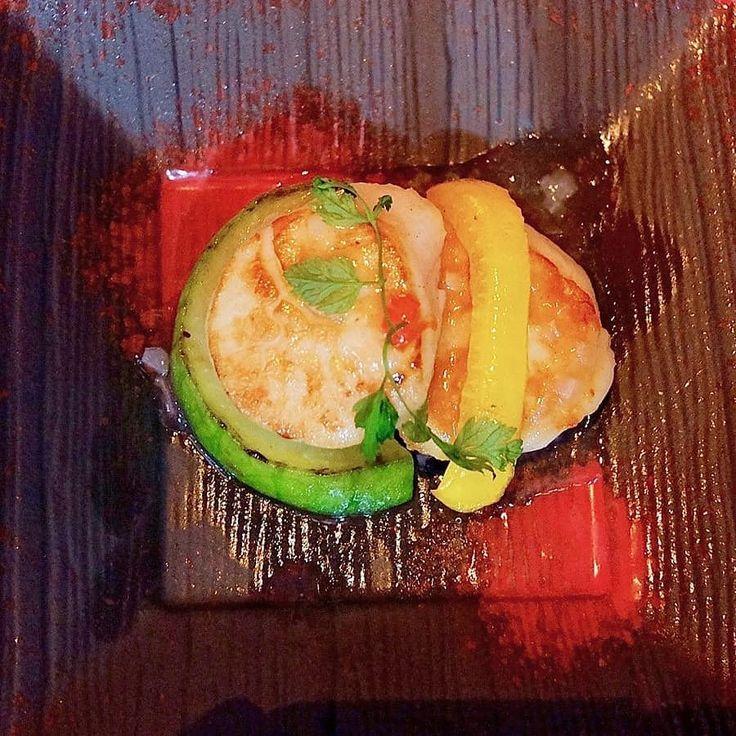 Pan-fried Scallops at Mitsui Cuisine M Taipei    #taiwanesefood #taipeifood #mitsuicuisine #ordinarypatrons