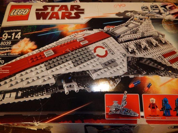 LEGO Star Wars Venator class Republic Attack Cruiser 8039 #LEGO