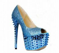 Image result for blue pumps for women