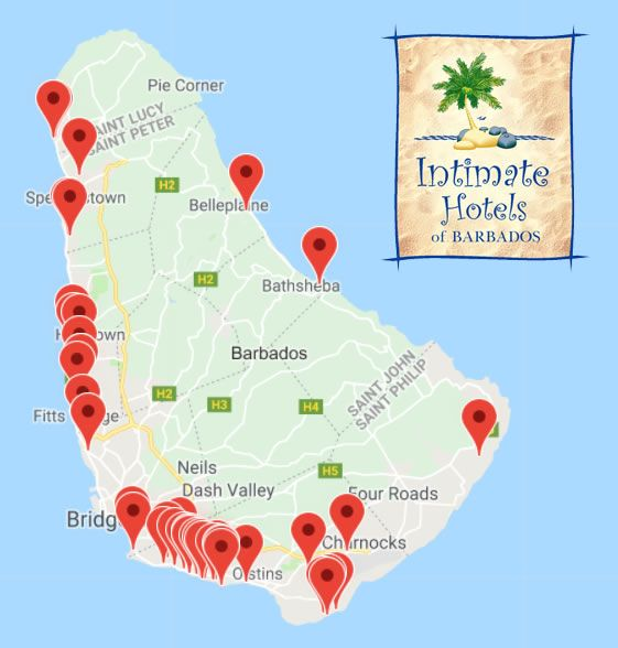 With over 45 hotels, apartment hotels, guesthouses and villas, Intimate Hotels of Barbados has YOUR perfect accommodation just a click away