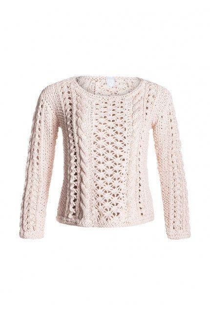 Jeżeli cenicie sobie ręcznie wykonane sploty, sprawdźcie koniecznie swetry od DUDZIŃSKIEJ. Ten znajdziecie w dwóch wersjach kolorystycznych. DUDZIŃSKA, 865 zł. Oczywiście na #BoutiqueLaMode.com.