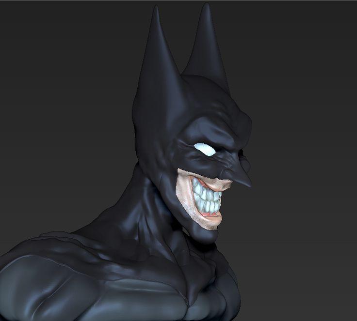 Batman JOKER  - por Riujii takasu mirar tambien el video de como se realizo el proyecto en mi tablero de modelado :) suscribanse