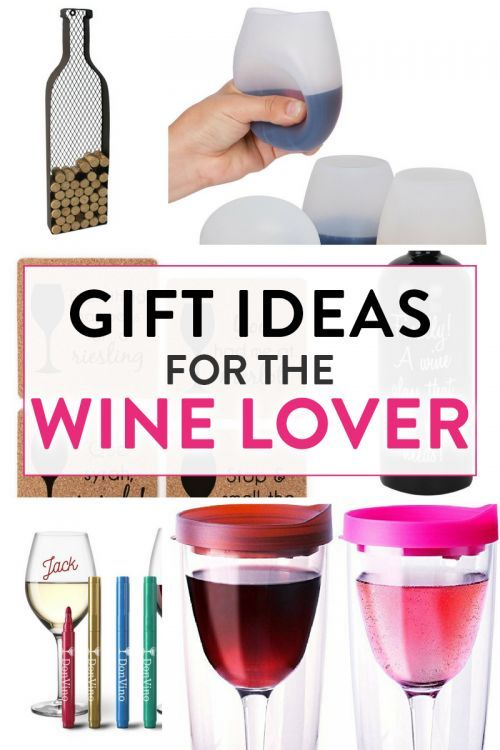 Gifts for the wine lover. Looking for some gift ideas for the wine lover? Check these out!