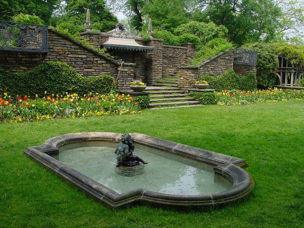 Dumbarton Oaks Garden -Jeff and I spent an entire Saturday here in May 2006. Heaven!!