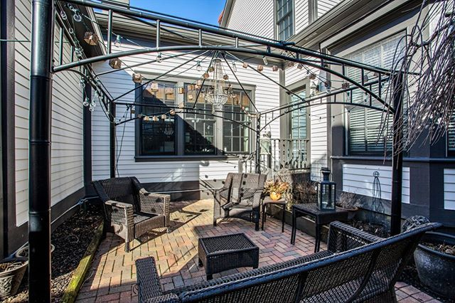 Private patio off of kitchen and master bedroom  2287 Glebe Street Carmel IN 46032  Village of WestClay $599900 http://glebe.callmatt.in  Courtesy of FC Tucker Co.  #talktotucker #fctucker #callmatt #realtor #luxuryrealestate #realestate #indyrealestate #villageofwestclay