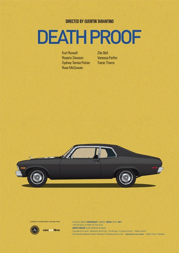 Death Proof  - Death Proof, Quentin Tarantino, 2007