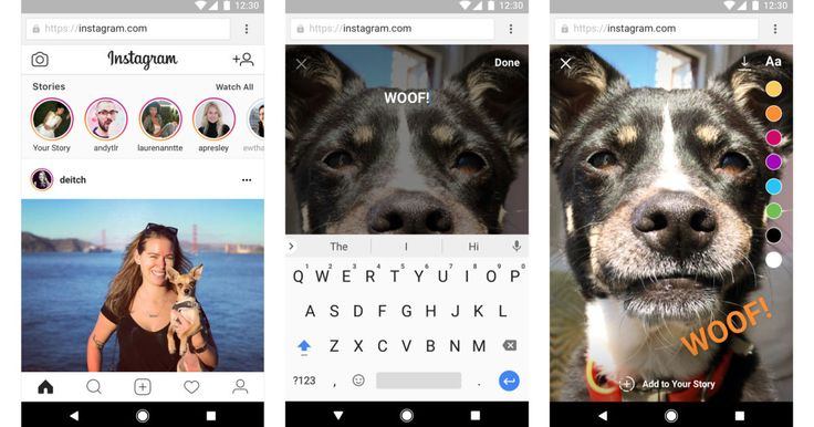 Create Instagram stories in your phone's web browser      Instagram's mobile web version lets you create stories, no app required. https://www.engadget.com/2017/11/16/create-instagram-stories-in-your-phones-web-browser/?utm_campaign=crowdfire&utm_content=crowdfire&utm_medium=social&utm_source=pinterest