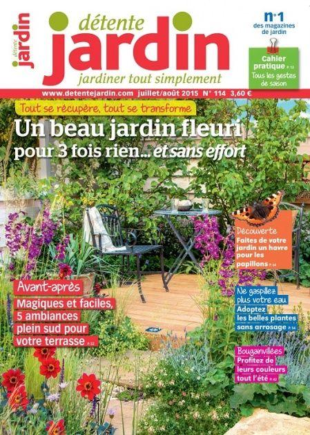 Les 17 meilleures images propos de d tente jardin le magazine sur pinterest logos design for Jardin design magazine