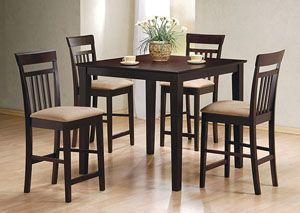 Counter Height Table/Chair 5pc Set, /category/dining-room/counter-height-table-chair-5pc-set-4.html