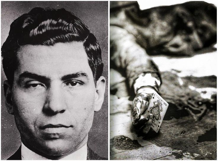 """On April 15, 1931, Joe Masseria was murdered at a restaurant called Nuova Villa Tammaro on Coney Island. Gangland legend has it that Masseria dined with Charles ""Lucky"" Luciano before his death. While they played cards, Luciano excused himself to the bathroom, when Vito Genovese, Albert Anastasia and Joe Adonis rushed in and shot Masseria to death, his four bodyguards having mysteriously disappeared. The New York Daily News reported that the boss died ""with the ace of spades, the death…"