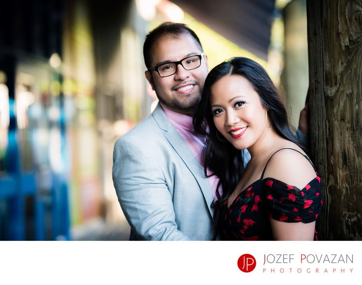 Best Award winning Vancouver wedding photographers Povazan Photography - Granville Island pre wedding pictures romantic location: Granville Island pre wedding pictures romantic location.  There is not so many weddings happening at the Granville Island in the heart of Vancouver but when it comes to engagement stories, then this is a perfect place for it. Narrow back-lanes with funky colours on the walls, shiny shopping windows with weird items in it, restaurants and market place which brings…
