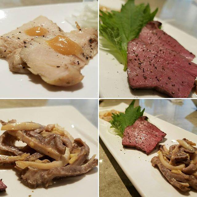 前菜@29on #グルメ#gourmet #肉#meat#和牛#wagyu#ミノ#ハツ#ガツ#29on#food#instagood#美味#delicious#旨味凝縮#濃厚#やわらか#肉の甘み#低温調理#焼かない焼肉#会員制#本日オープン#表参道#omotesandou#東京#tokyo#★★★☆☆