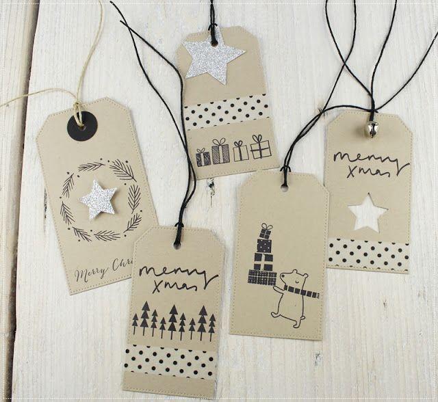 Weihnachtliche Geschenkanhänger...................