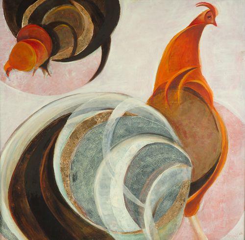 Brassai Gabi :Roosters