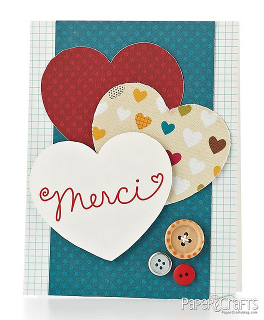 Merci Card by @P Kelly Smith