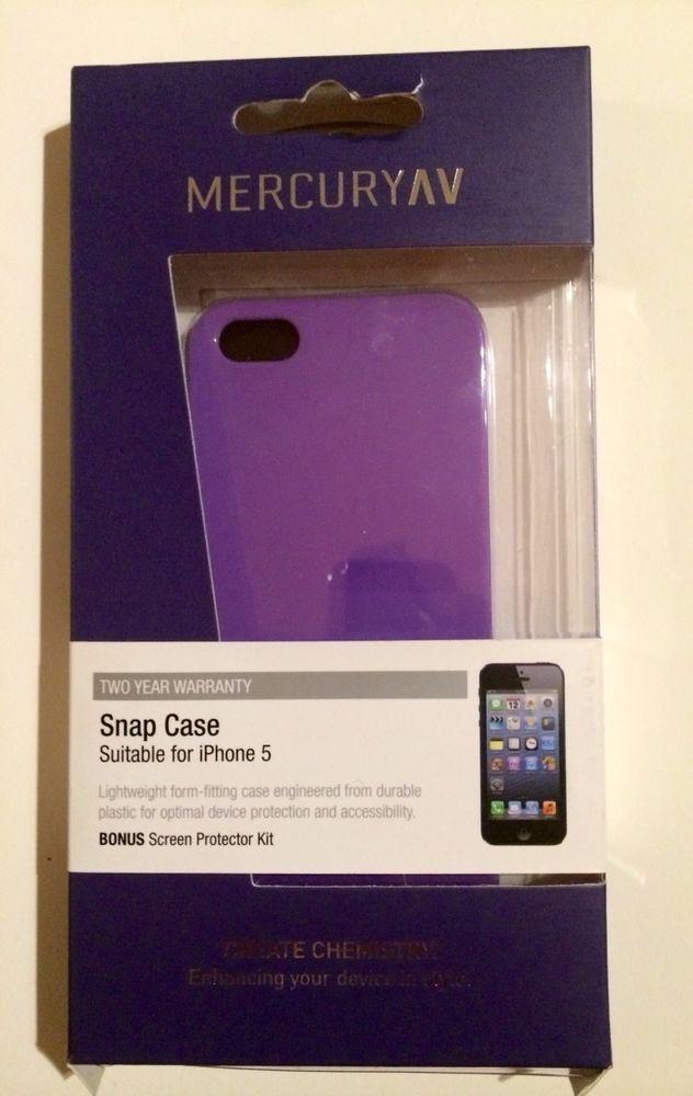 Mercury AV - Snap Case for iPhone 5