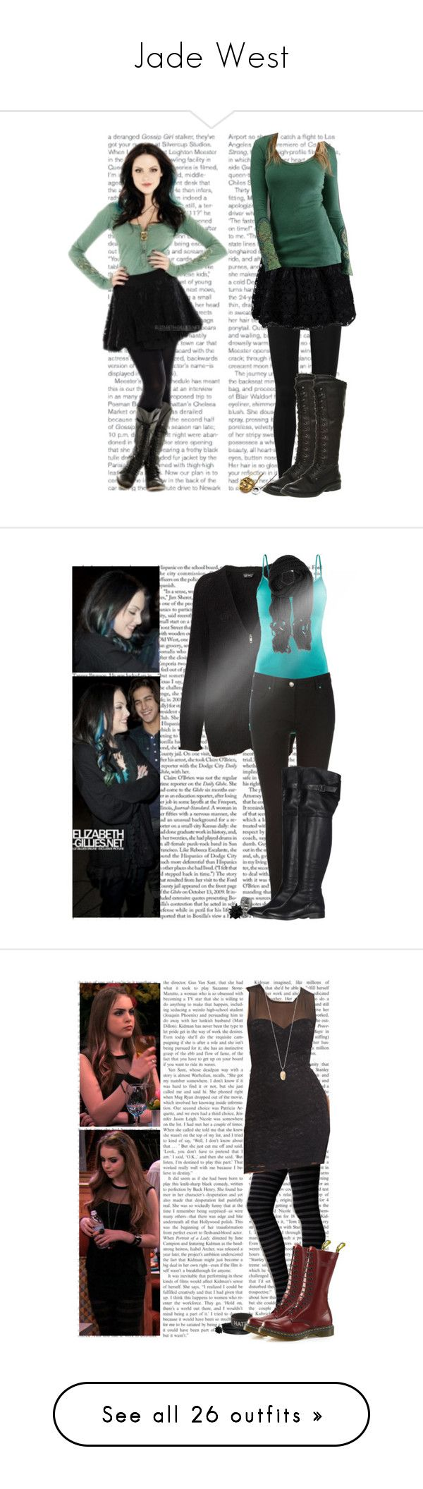 """""""Jade West"""" by justbeyoutiful ❤ liked on Polyvore featuring Vince, RED Valentino, Office, victorious, liz gillies, jade west, elizabeth gillies, Edition, H&M and Wallis"""