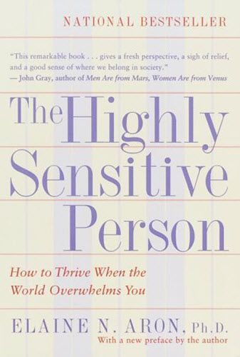 What is a Highly Sensitive Person? (HSP) How can I find out if I am HSP? What does HSP have to do with anxiety? If you have questions about HSP, discover the answer in this comprehensive book that explains the concept of the highly sensitive person. | psychology | positive psychology | nonfiction| self help | self improvement | good books | nonfiction