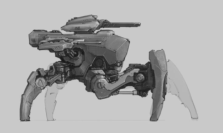 main battle robot by ProgV.deviantart.com on @deviantART