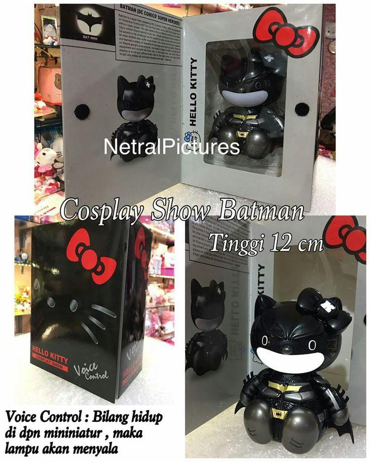 #miniature #hellokitty #cosplay #batman @ 225.000