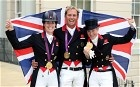 GB's dressage team: London 2012 Olympics: British golds