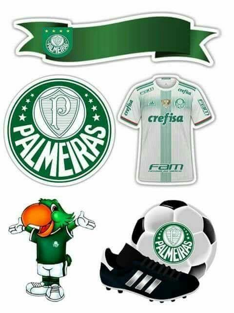Topo de bolo do Palmeiras  f4a00798e4cf7