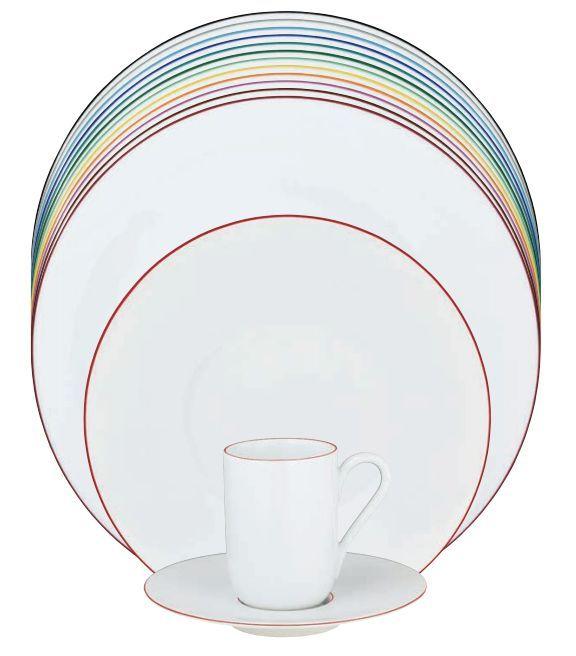 #Raynaud - Limoges #porcelain - Monceau color collection