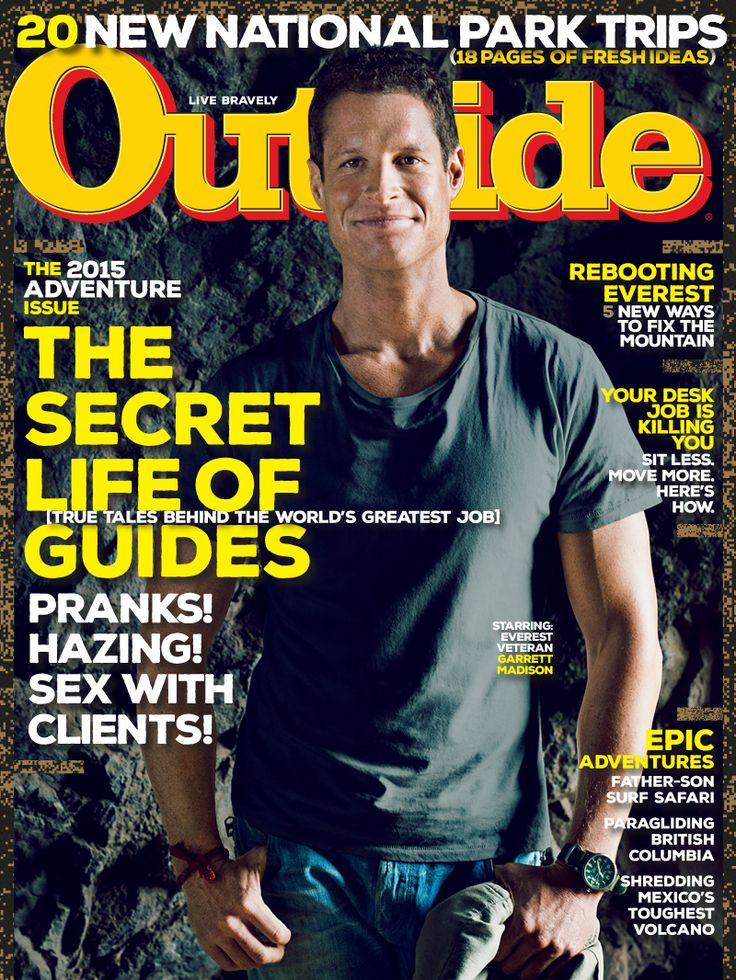 Outside Magazine, May 2015