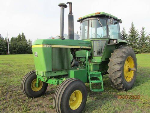 Old John Deere tractors=150hp John Deere 4630