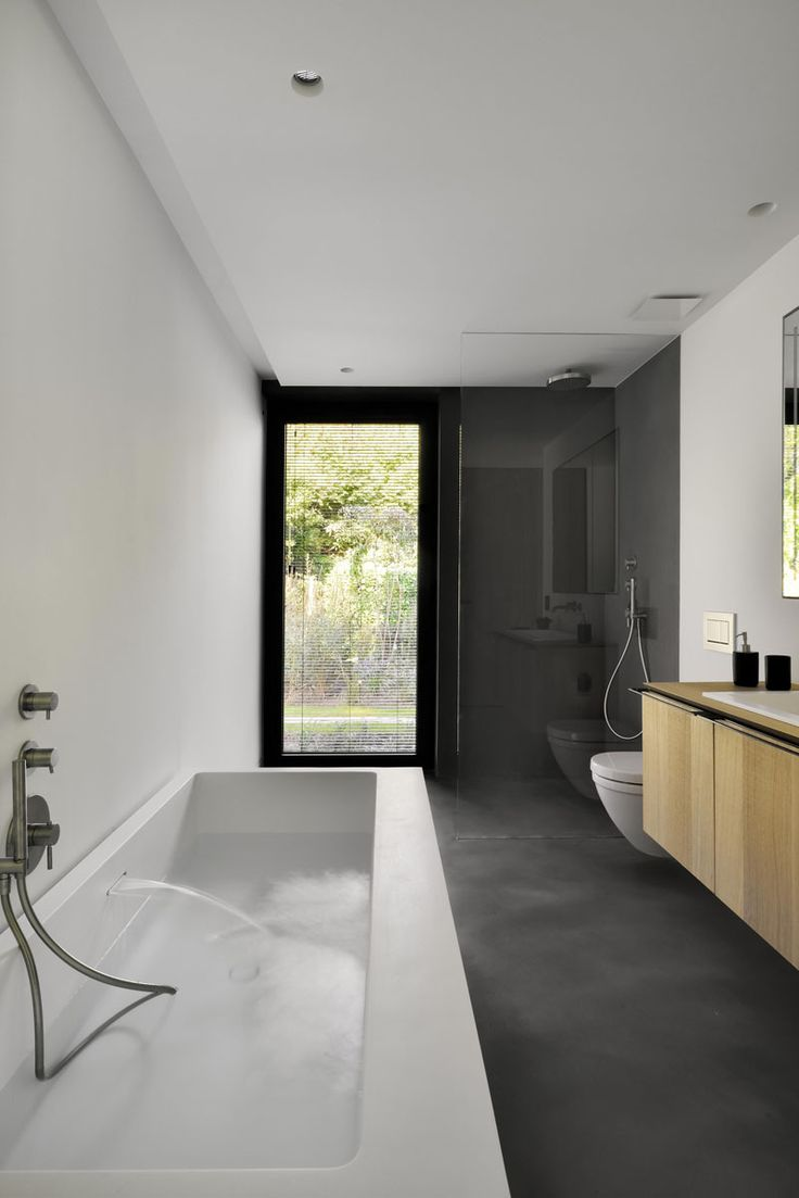 611 best bathroom so fresh and so clean images on pinterest this contemporary black brick house was renovated for a new life in belgium beach bathroomsguest bathroomsmodern