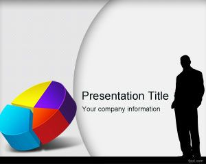 Market Research PowerPoint Template is a free market research PowerPoint presentation template with a colorful pie chart in the master slide