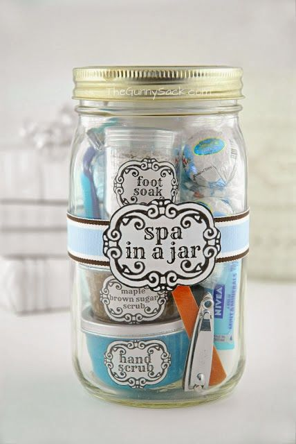 Linda dica de presente: Spa in a Jar! - Mulher sem photoshop