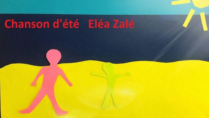 Chanson d'été , chanson pour enfants Eléa Zalé