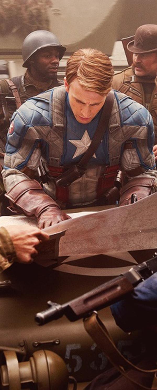 Captain America the First Avenger: Chris Evans as Steve Rogers aka Captain America