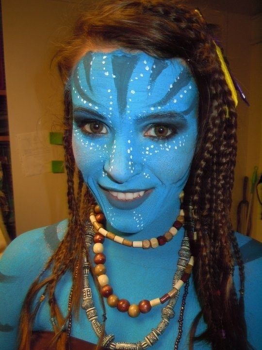 Avatar: | 23 Jaw-Dropping Halloween Costumes Made Literally Only With Makeup
