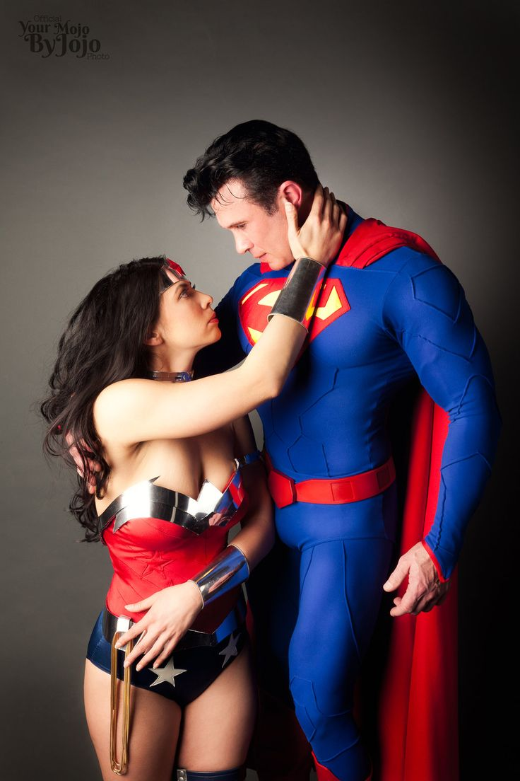 Superman and wonder woman couple-7872