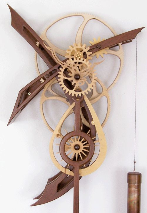 Wish could make this 1 working, if did would be art only--Amazing Clocks | She sounds beautiful and has a fascinating escapement to watch. This ...