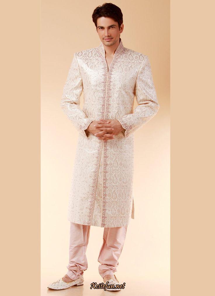 White Indian Groom Wedding Dress – fashion dresses