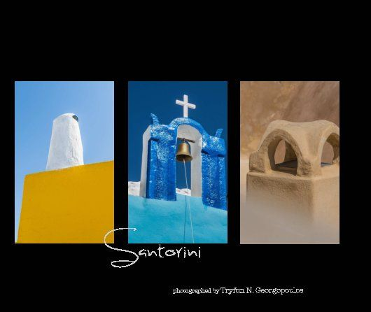 Santorini, a unique island and one of the top destinations worldwide.  Photographed by a competented photographer with a different perspective. Various locations over the island and its villages will introduce you the wild beauty of Santorini.  A photo book full of colors, for those who want to keep their memories alive and those who want to be introduced to this unique island. A book which can be offered as a unique and special business gift or a gift for you and yours.
